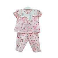 Baby Vinata Pajamas Baby Clothes - Love Bear Set
