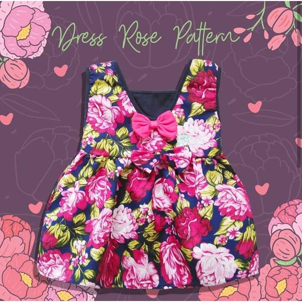 Baju Bayi Dress Bayi Vinata Dev Ey - Flowery Ribbon