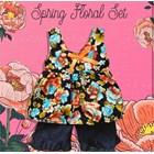Baju Bayi Setelan Bayi Vinata Dev Vo - Spring Floral Set 3