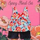 Baju Bayi Setelan Bayi Vinata Dev Vo - Spring Floral Set 2