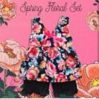 Baju Bayi Setelan Bayi Vinata Dev Vo - Spring Floral Set 1