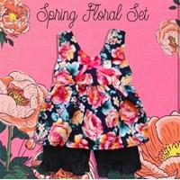 Jual Baju Bayi Setelan Bayi Vinata Dev Vo - Spring Floral Set
