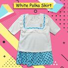 Baju Bayi Setelan Bayi Vinata Dev Vo - White Polka Skirt 3