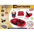 Produk dan Peralatan Bayi Kasur Bayi Moms Baby - MBK 4004 Red 1