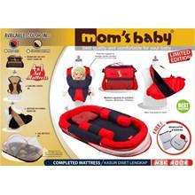 Produk dan Peralatan Bayi Kasur Bayi Moms Baby - MBK 4004 Red