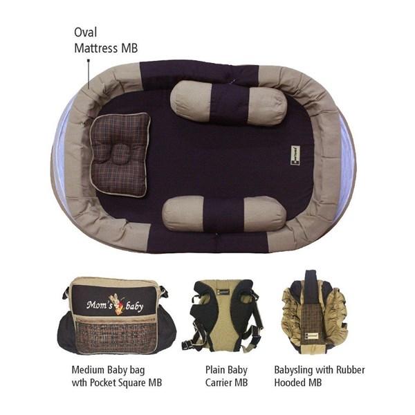 Produk dan Peralatan Bayi Kasur Bayi Moms Baby - MBK 4004 Brown