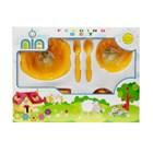Baby Feeding Set Nia Medium Products and Equipment - Orange 1