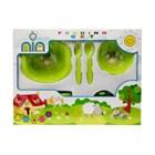 Produk dan Peralatan Bayi Feeding Set Nia Medium - Green 1