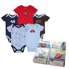 Pakaian Bayi Jumper Bayi Carter 5 in 1 Boy - New Born