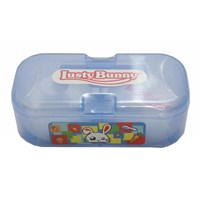 Produk dan Peralatan Bayi Tempat Bayi Lusty Bunny Kotak - Blue