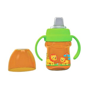 5934f92c0b0 Baby Products and Equipment Baby Milk Bottles Baby Safe Cup 125 ml Soft  Spout - Orange