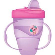 Produk dan Peralatan Bayi Botol Susu Bayi Baby Safe Cup Hard Spout 210 ml - Purple