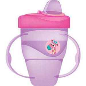 5d47ea52dcc Baby Products and Equipment Baby Milk Bottles Baby Safe Cup Hard Spout 210  ml - Purple