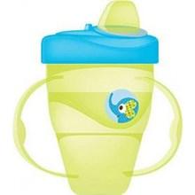 Produk dan Peralatan Bayi Botol Susu Bayi Baby Safe Cup Hard Spout 210 ml - Green