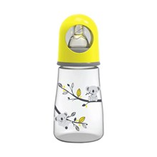 Produk dan Peralatan Bayi Botol Susu Bayi Baby Safe Feeding Bottle 125 ml - Yellow