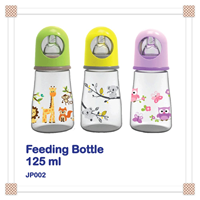 Dot Bayi Produk dan Peralatan Bayi Botol Susu Bayi Baby Safe Feeding Bottle 125 ml - Purple