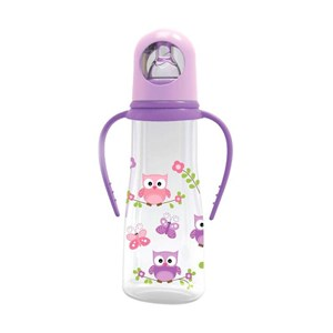 68121007e6c Baby Products and Equipment Baby Milk Bottles Baby Safe Feeding Bottle with  Handle 250ml - Purple