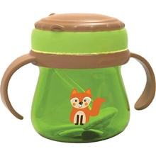 Produk dan Peralatan Bayi Botol Susu Bayi Baby Safe Feeding Cup Weighted Straw - Green