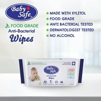 Produk dan Peralatan Bayi Tissue Bayi Baby Safe Food Grade Anti-Bacterial Wipes