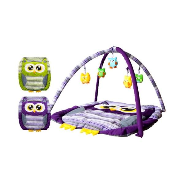 Produk dan Peralatan Bayi Baby Playmat Motif Owl DLP 0001