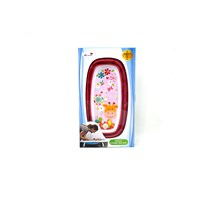 Jual Produk dan Peralatan Bayi Bak Mandi Bayi Folding Baby Bath Labeille - Rose Red 2