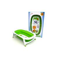 Produk dan Peralatan Bayi Bak Mandi Bayi Folding Baby Bath Labeille - Green