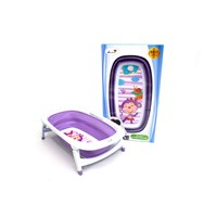 Produk dan Peralatan Bayi Bak Mandi Bayi Folding Baby Bath Labeille - Purple 1