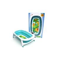 Produk dan Peralatan Bayi Bak Mandi Bayi Folding Baby Bath Labeille - Turq 1