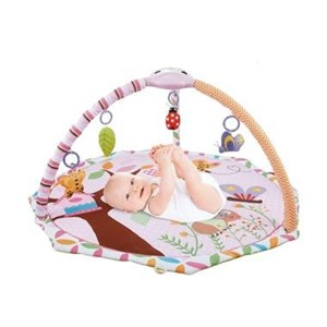 Produk dan Peralatan Bayi Babyelle 63548 3In1 Baby Playgym With Projector Baby Bouncer - Pink