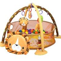 Produk dan Peralatan Bayi Babyelle Lion 3In1 Activity Playgym wit Ball Pit - Orange