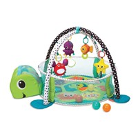 Produk dan Peralatan Bayi Babyelle Turtle 3In1 Activity Playgym with Ball Pit - Green