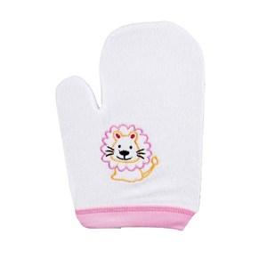 Produk dan Peralatan Bayi Lusty Bunny Washlap Tangan Handuk Lion - Pink