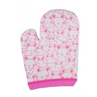 Baby Products and Equipment Lusty Bunny Washlap Hand Handshape Motif Rabbit - Pink