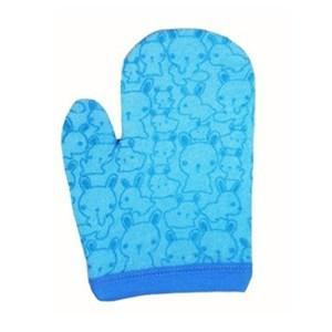 Produk dan Peralatan Bayi Lusty Bunny Washlap Tangan Handshape Motif Kelinci - Blue