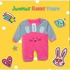 Baju Bayi Setelan Bayi Vinata Dev Eu - Jumpsuit Rabbit Stripy 2