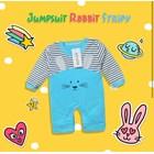 Baju Bayi Setelan Bayi Vinata Dev Eu - Jumpsuit Rabbit Stripy 3