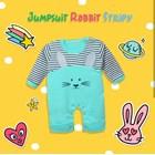 Baju Bayi Setelan Bayi Vinata Dev Eu - Jumpsuit Rabbit Stripy 1