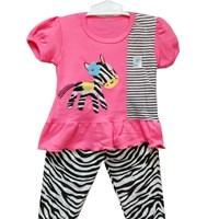 Pakaian Bayi Setelan Vinata V0 - Baby Zebra Set