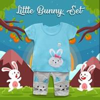 Jual Pakaian Bayi Setelan Vinata Ve - Little Bunny Set
