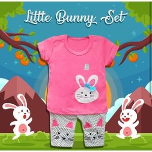 Pakaian Bayi Setelan Vinata Ve - Little Bunny Set