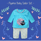 Pakaian Bayi Piyama Bayi Vinata Vo - Sailor Set 2