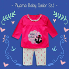 Pakaian Bayi Piyama Bayi Vinata Vo - Sailor Set 3