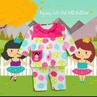 Pakaian Bayi Piyama Bayi Vinata Vo - Cute Girl With Balloon 4