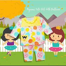 Pakaian Bayi Piyama Bayi Vinata Vo - Cute Girl Wit