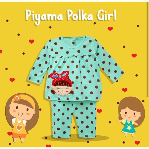 Pakaian Bayi Piyama Bayi Vinata Vo - Polka Girl