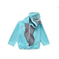 Pakaian Bayi Jaket Bayi Vinata Is - Stripe Lace