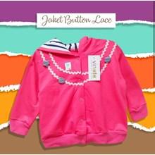 Pakaian Bayi Jaket Bayi Vinata Is - Button Lace