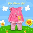Pakaian Bayi Setelan Bayi Vinata Vo - Sun Flower Set 2