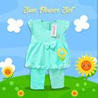 Pakaian Bayi Setelan Bayi Vinata Vo - Sun Flower Set 3