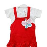 Pakaian Bayi Dress Bayin Vinata Vv - Overall Cute Butterfly